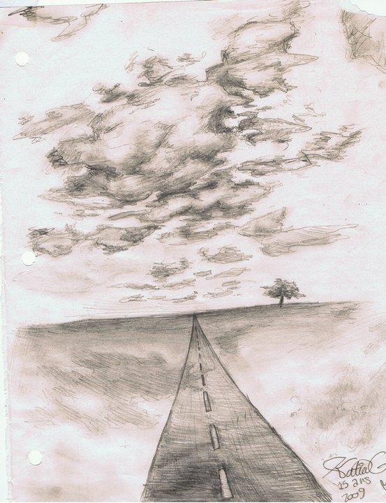 Vers l'horizon (Poème du secondaire 2009)